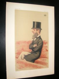 Vanity Fair Print 1874 Duke Of Bedford.